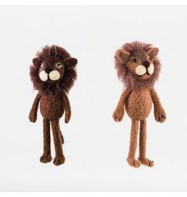 glitterville Lion Ornament