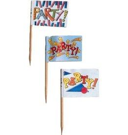 PFEIL & HOLING PARTY FLAG PICK 2 1/2'' BOX 144 CT