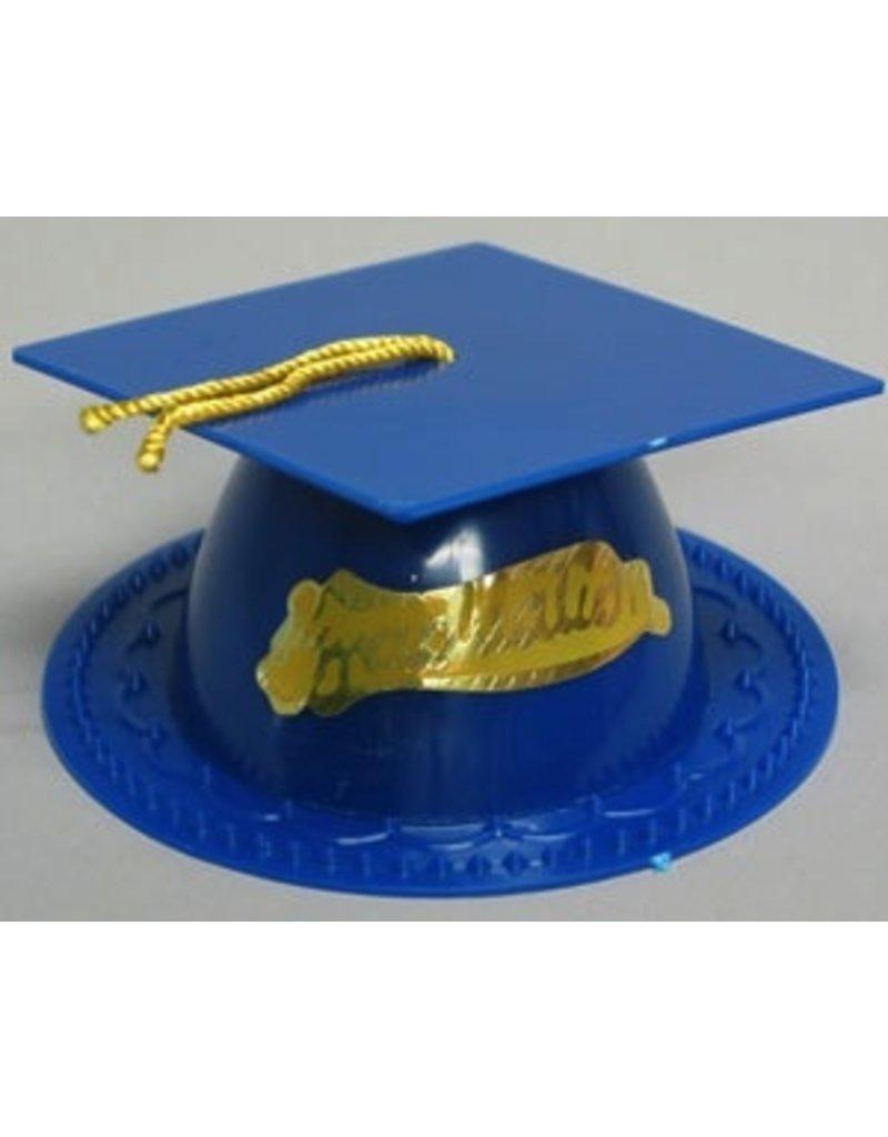PFEIL & HOLING DARK BLUE GRADUATION CAP 3 1/2'' BOX 24 CT