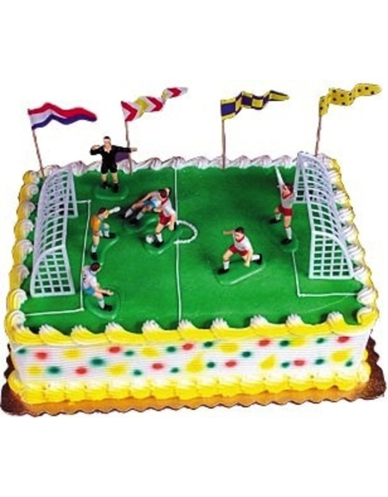 PFEIL & HOLING SOCCER MATCH CAKE KIT BOX 6 CT