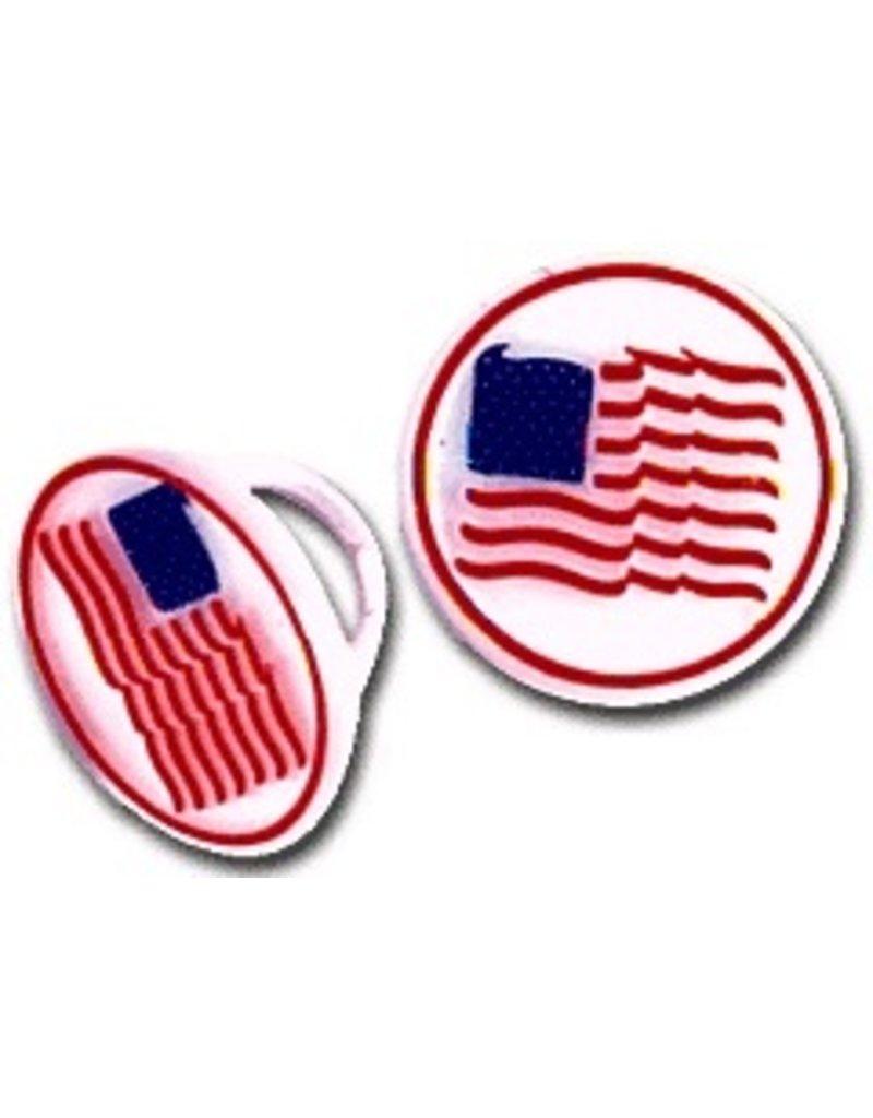 PFEIL & HOLING AMERICAN FLAG RING 1 1/4'' BOX 144 CT