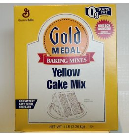GENERAL MILLS YELLOW CAKE MIX 5 LB EA