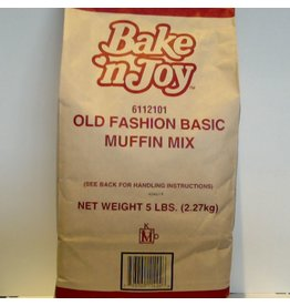 OLD FASHION BASIC MUFFIN MIX 5 LB