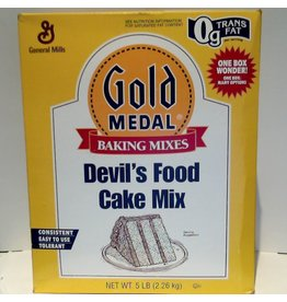 GENERAL MILLS DEVIL'S FOOD CAKE MIX 5 LB EA
