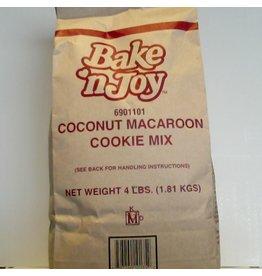 BAKE' N JOY COCONUT MACAROON COOKIE MIX EA 4 LB