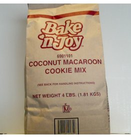 J.A.R. BAKERS SUPPLY COCONUT MACAROON COOKIE MIX EA 4 LB
