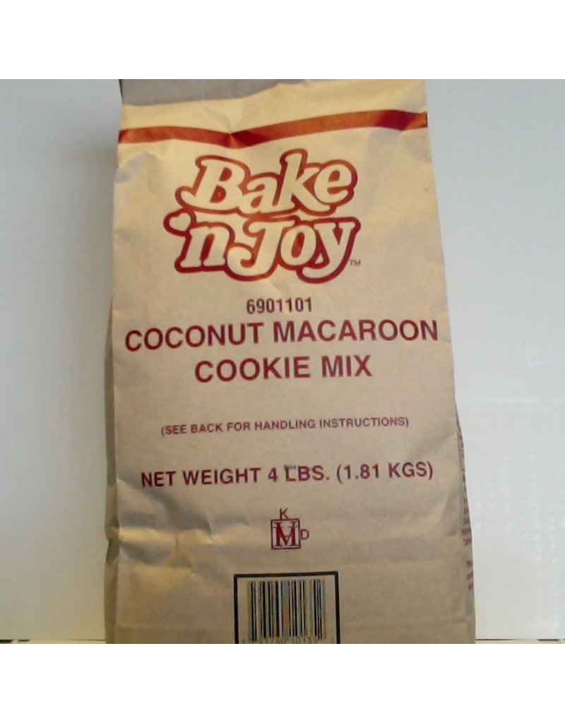BAKE' N JOY COCONUT MACAROON COOKIE MIX EA 4 LB