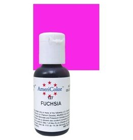 ATECO AMERICOLOR FUCHSIA GEL PASTE .75 OZ