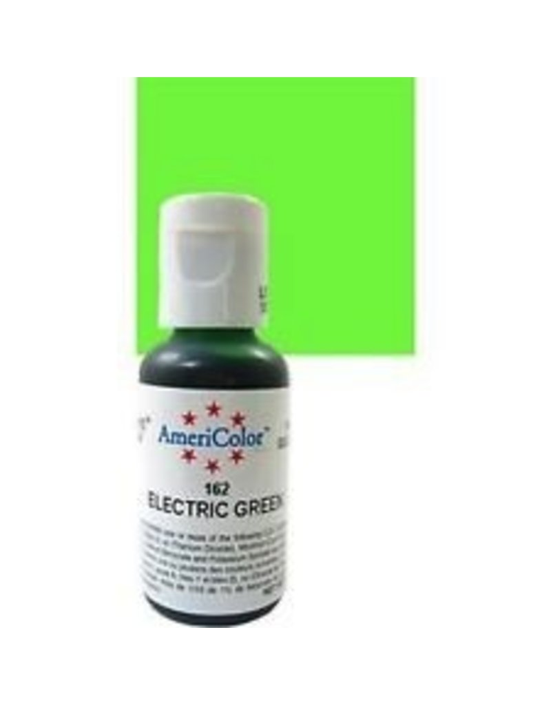 ATECO AMERICOLOR ELECTRIC GREEN GEL PASTE .75 OZ