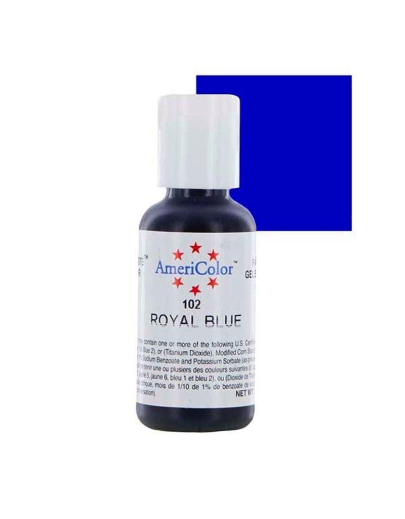 ATECO AMERICOLOR ROYAL BLUE GEL PASTE 4.5 OZ