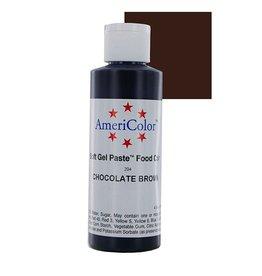 ATECO AMERICOLOR CHOCOLATE GEL PASTE 4.5 OZ