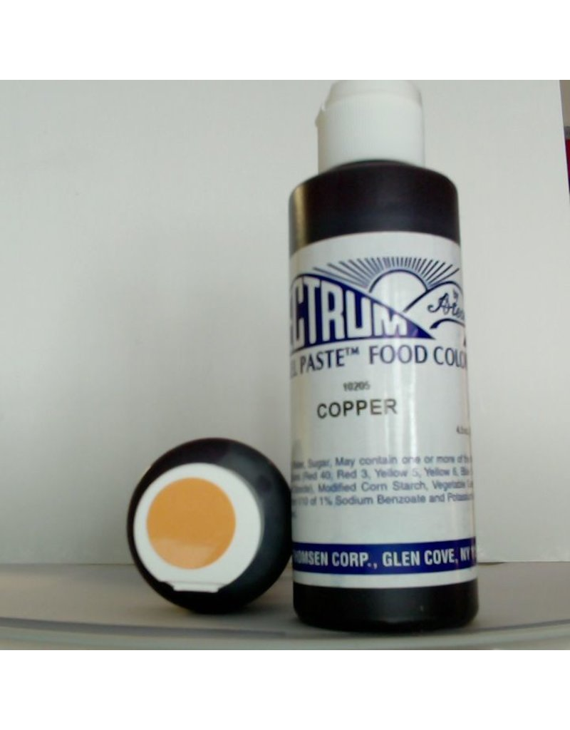 SPECTRUM SPECTRUM COPPER GEL PASTE 4.5 OZ