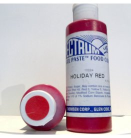 SPECTRUM SPECTRUM HOLIDAY RED GEL PASTE 4.5 OZ