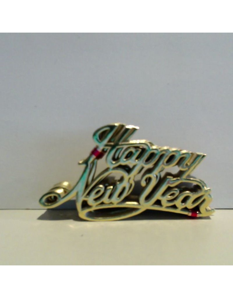 PFEIL & HOLING ''HAPPY NEW YEARS'' GOLD FOIL SCRIPT PKG 100 CT