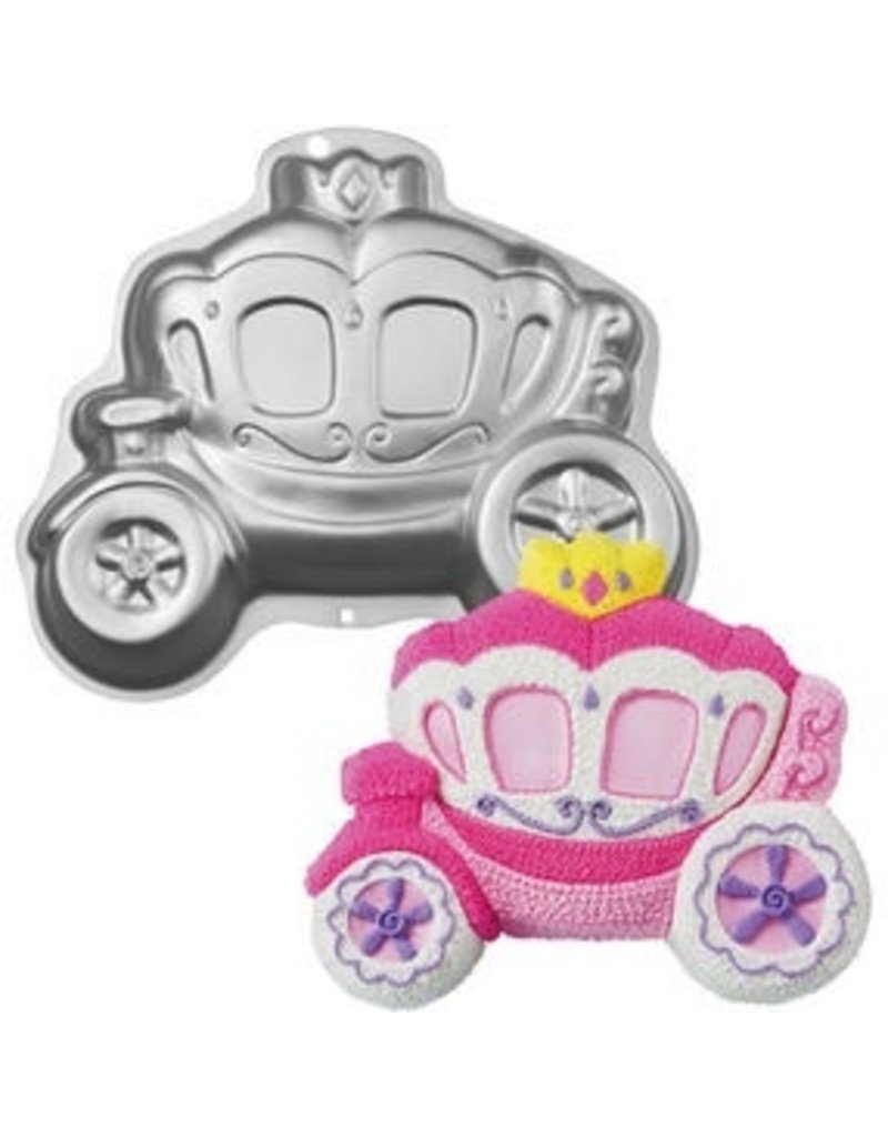 WILTON ENTERPRISES PRINCESS CARRIAGE CAKE PAN