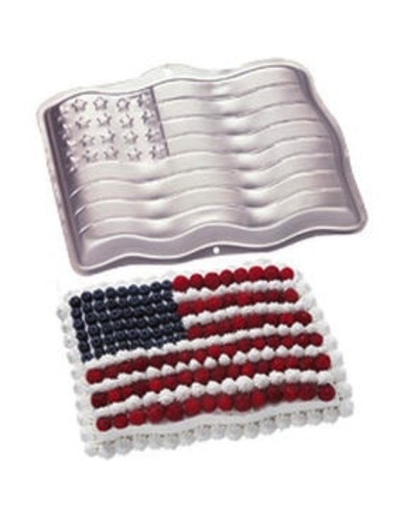 WILTON ENTERPRISES STARS AND STRIPES PAN