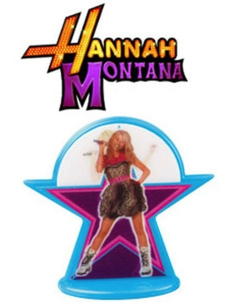 WILTON ENTERPRISES HANNAH MONTANA PARTY TOPPER 6 CT