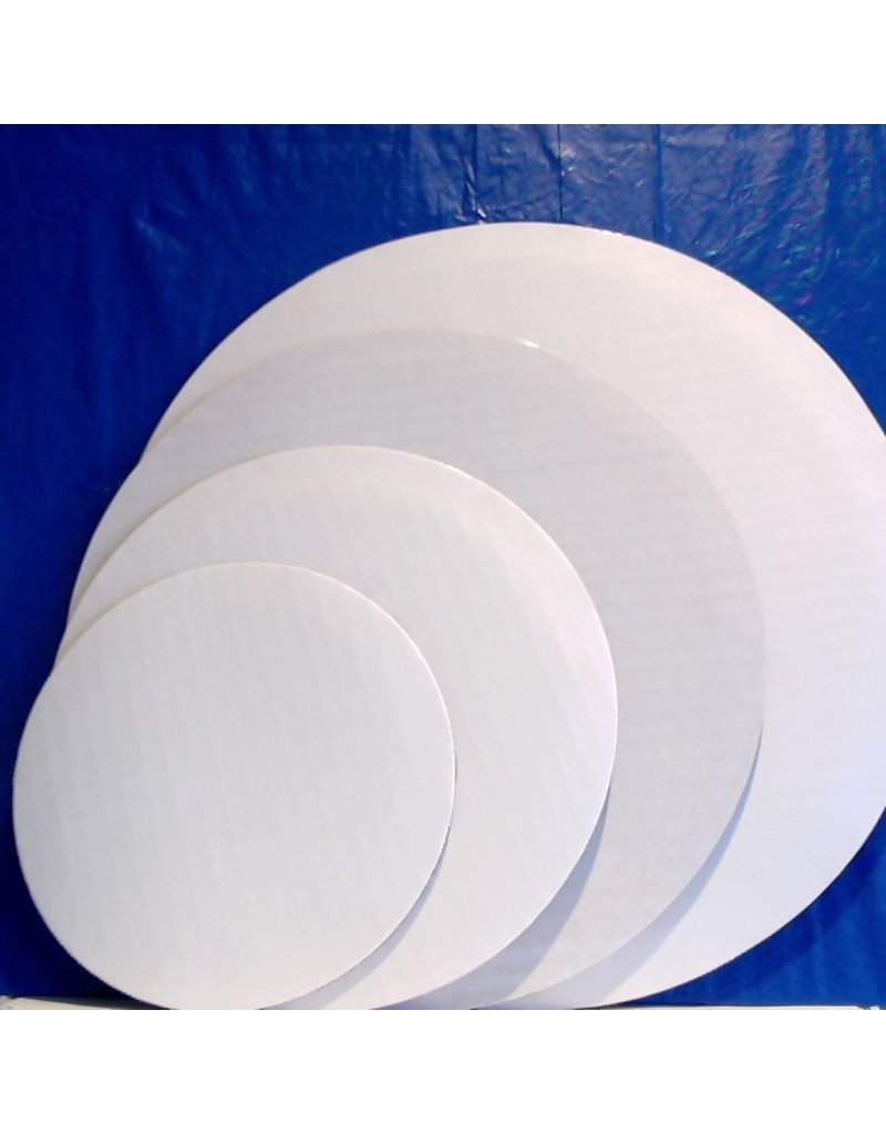 PACKAGING & MORE 10'' WHITE CIRCLE EA