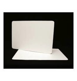PACKAGING & MORE FULL SHEET 25 X 18'' WHITE BOARD EA