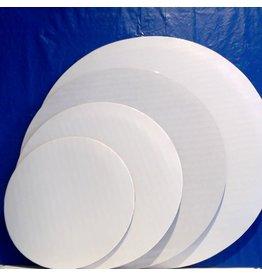 PACKAGING & MORE 8'' WHITE CIRCLE EA