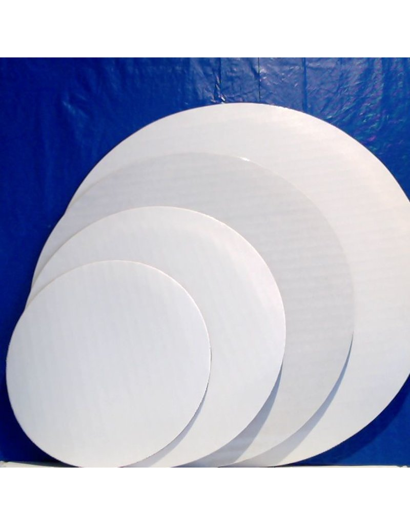 PACKAGING & MORE 16'' WHITE CIRCLE EA