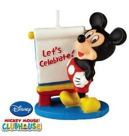 WILTON ENTERPRISES MICKEY MOUSE CANDLE EA