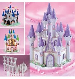 WILTON ENTERPRISES ROMANTIC CASTLE CAKE SET