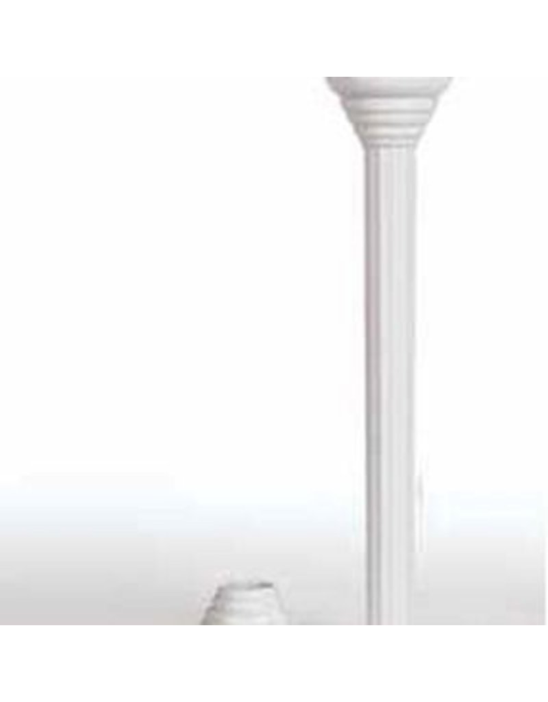 WILTON ENTERPRISES 7''  DISPOSABLE PILLAR W/ RINGS PKG 4 CT