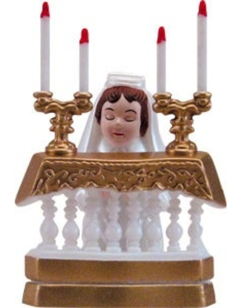 PFEIL & HOLING COMMUNION GIRL AT ALTAR - PL 3 1/2'' BOX 12 CT