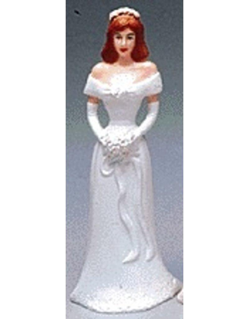 PFEIL & HOLING BRIDESMAID 4 1/2'' WHITE BOX 12 CT