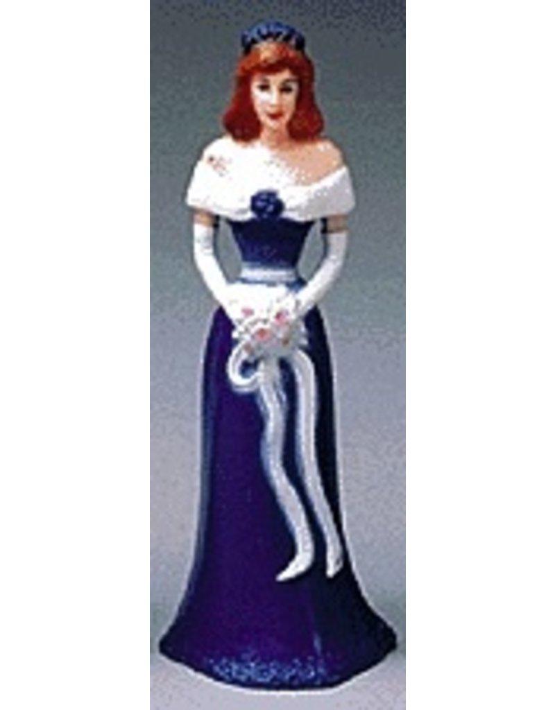 PFEIL & HOLING BRIDESMAID 4 1/2'' ROYAL BLUE BOX 12 CT