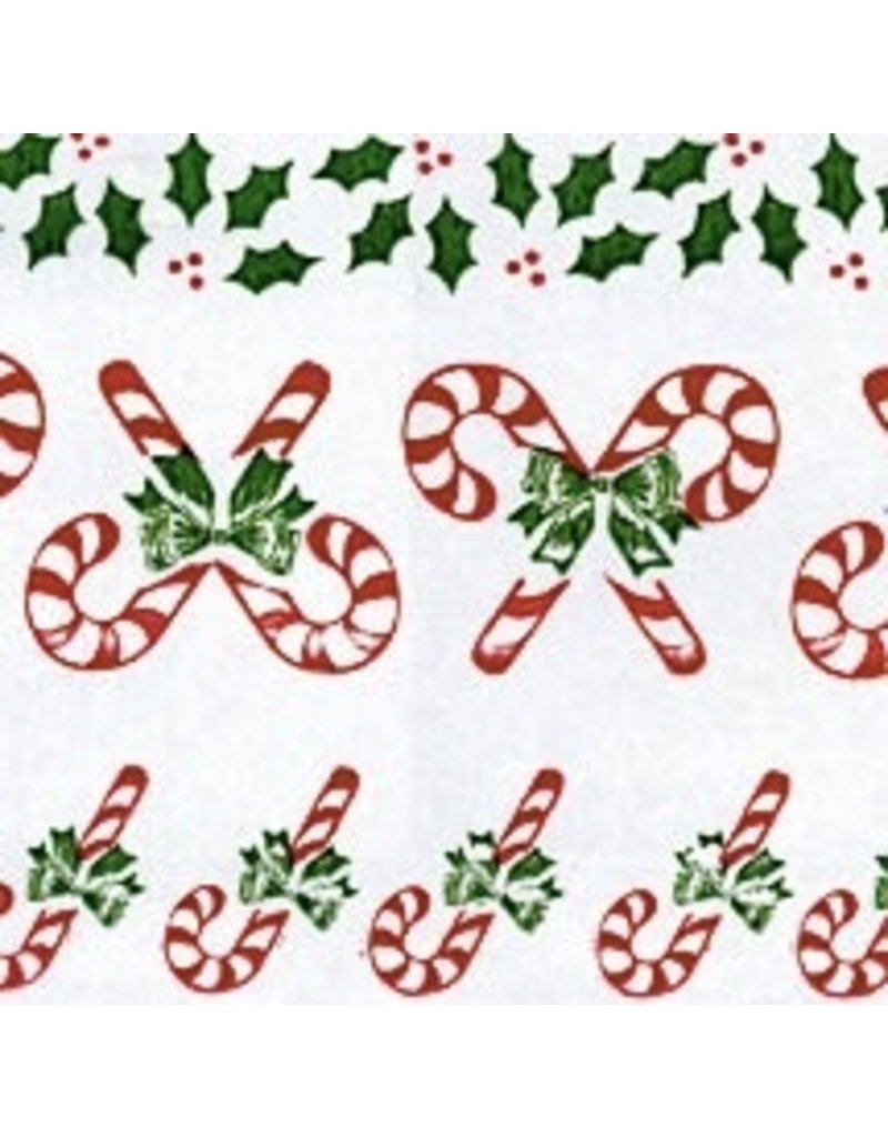 PFEIL & HOLING CANDY CANE CELLO WRAP 40'' X 100' EA