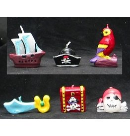 PFEIL & HOLING PIRATES AHOY! CANDLE SETS COX 6 CARDS