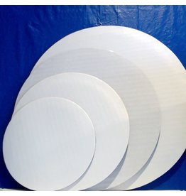 PACKAGING & MORE 6'' GREASEPROOF WHITE CIRCLE EA  J.A.R.