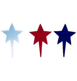 PFEIL & HOLING PATRIOTIC STAR PICK ASST 3'' BOX  144CT