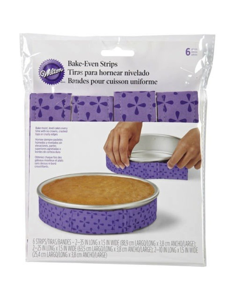 WILTON ENTERPRISES 6 PC BAKE - EVEN STRIP SET