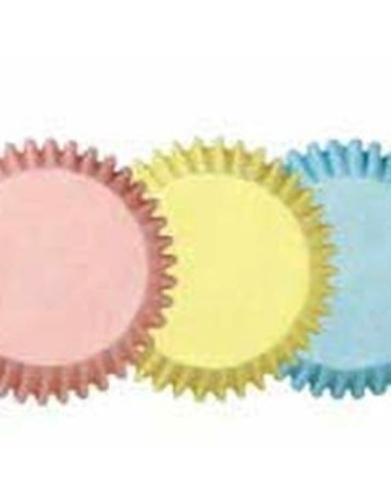 WILTON ENTERPRISES 2'' PASTEL STD BAKING CUP PKG 75 CT