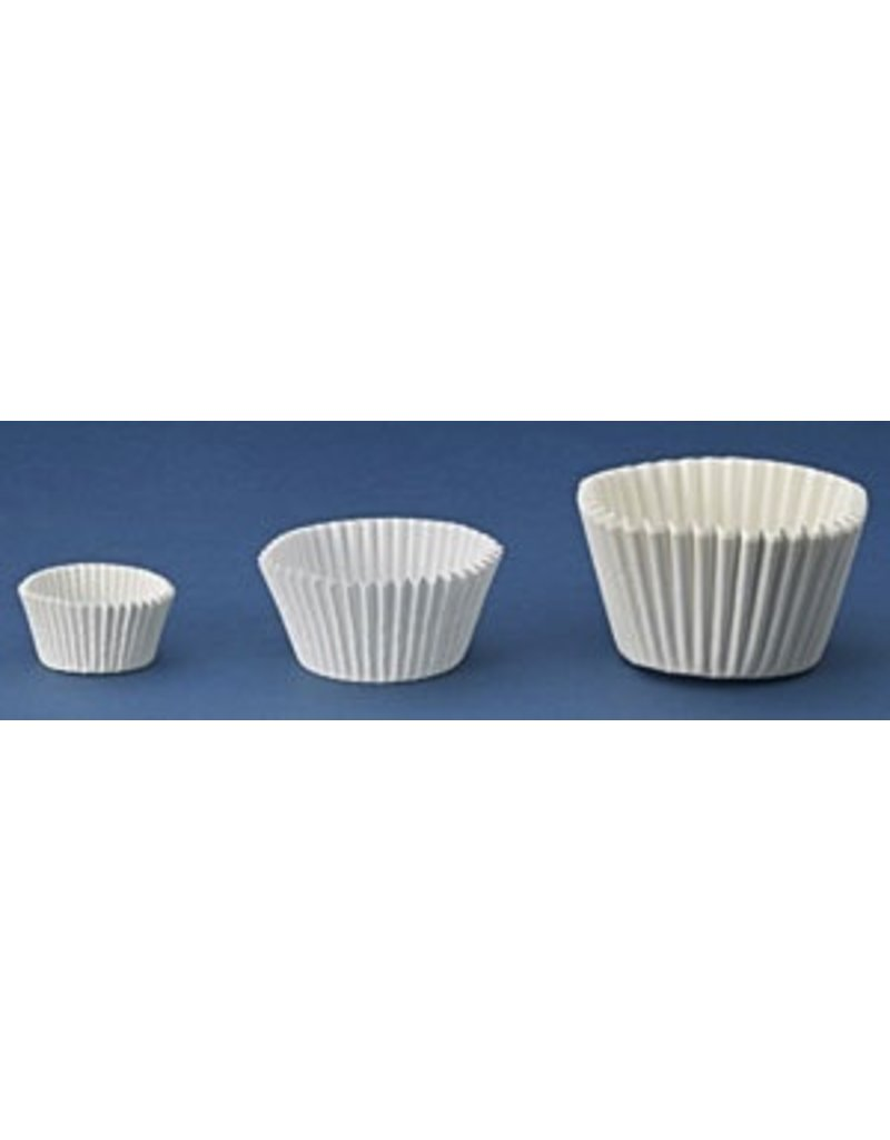 PFEIL & HOLING 3'' WHITE BAKING CUP SLV 500 CT