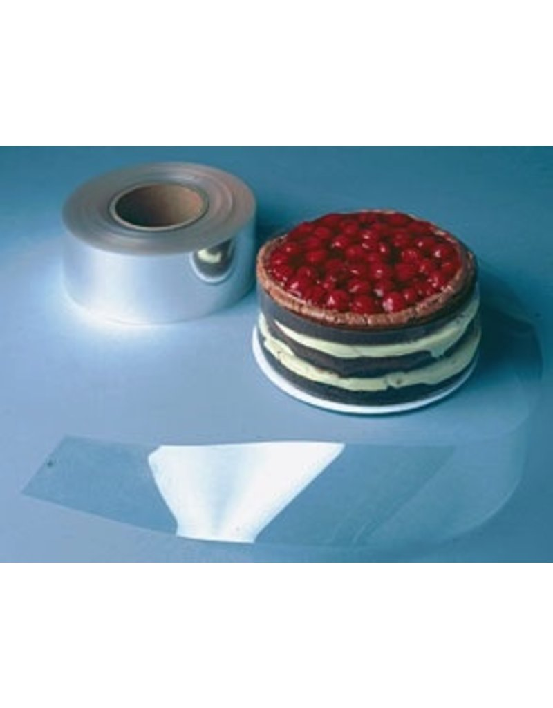 PFEIL & HOLING CAKE COLLAR PL CLEAR 2 1/2'' X 28.5 200 CT