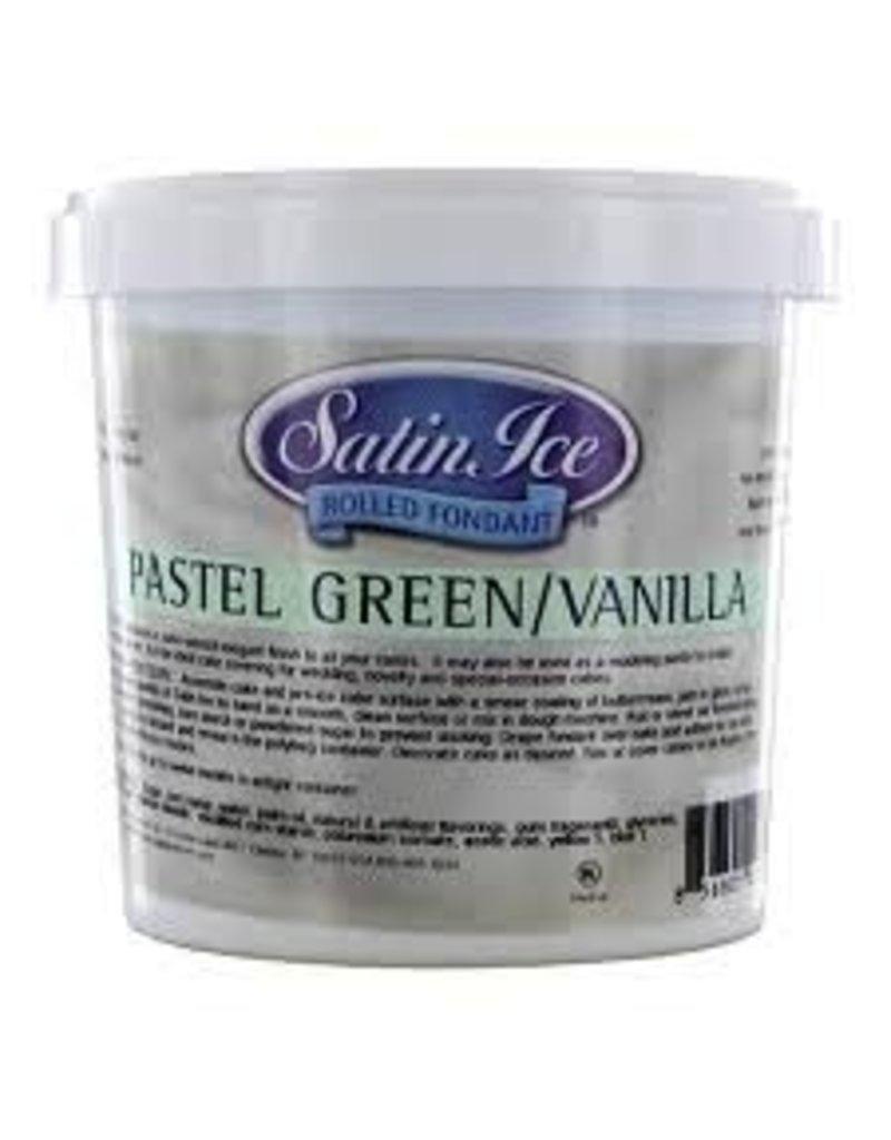 SATIN FINE FOODS PASTEL GREEN SATIN ICE 2 LB