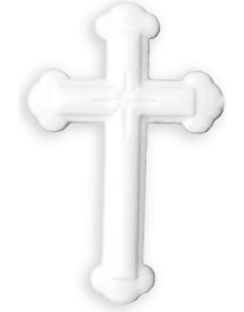 PFEIL & HOLING LG ORNATE WHITE CROSS SUGAR 4 1/2'' BOX 16 CT P&H