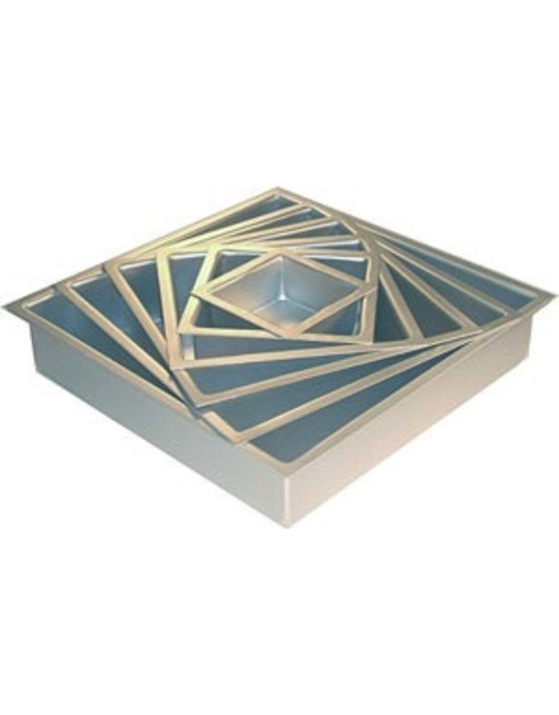 PFEIL & HOLING 8 X 8X 3'' SQ ALUMINUM PAN