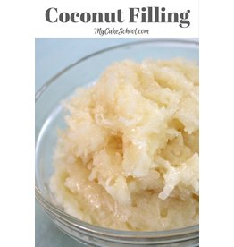 CSM BAKING SOLUTIONS SNOW PUFF COCONUT FILLING CSM SLV 2 LB