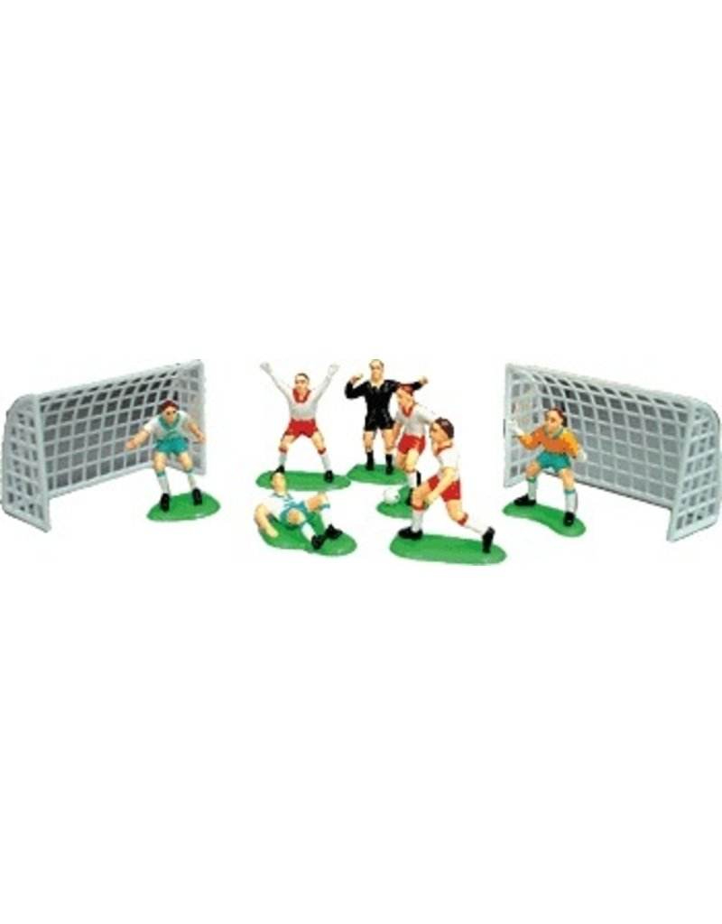 PFEIL & HOLING SOCCER PLAYERS -7PCS W/2 GOALS EA