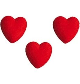 PFEIL & HOLING MED HEART RED SUGAR 1 1/4'' BOX 144 CT  P&H