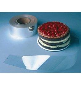 "PFEIL & HOLING CAKE COLLAR ROLL CLEAR 3"" X 500'"