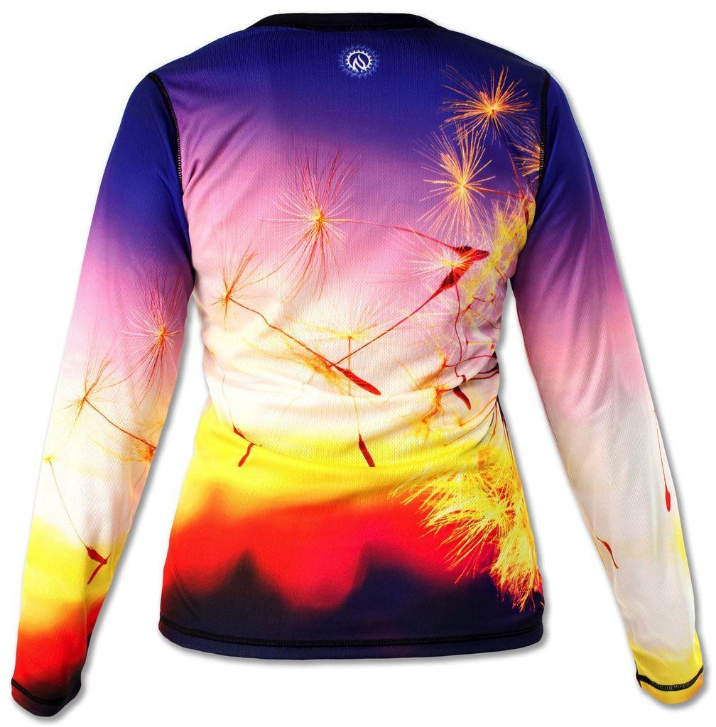Ink N Burn Dandelion L/S Tech Shirt