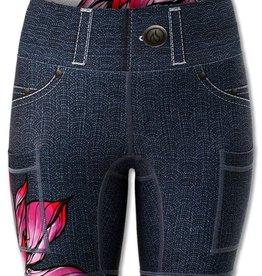 Ink N Burn Lotus Shorts