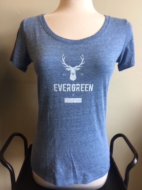 Mountain Daisy Mountain Daisy Elk Evergreen Tee
