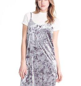 Michelle by Comune Velvet Slip Dress